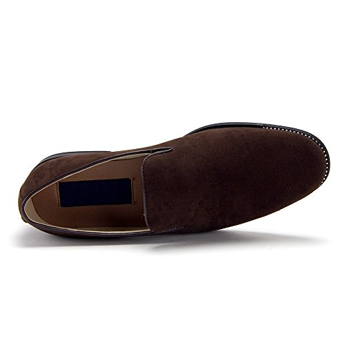 Dress Smoking Brown On 86212 Loafers Mens Shoes Slippers Designer Slip OqAaw61