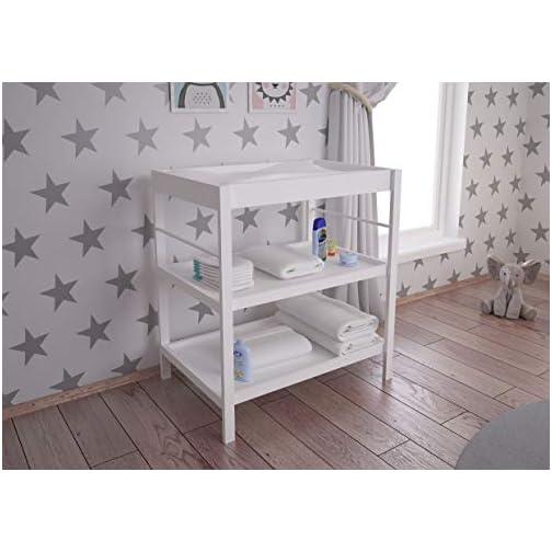 Cambiador vestidor blanco para bebé