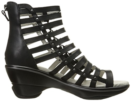 Jambu Women's Brookline Wedge Pump, Black, 9.5 M US by Jambu (Image #7)