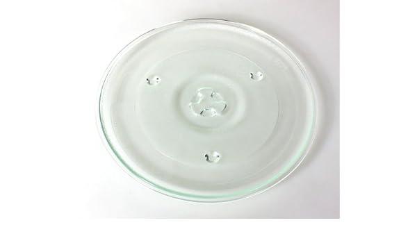 daniplus - Plato giratorio de cristal (Diámetro 27 cm apta para ...