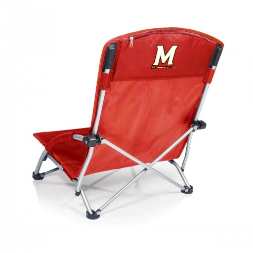 PICNIC TIME NCAA Maryland Terrapins Digital Print Tranquility Chair, One Size, Red