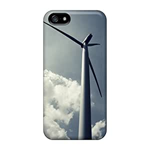 New Style RichJWen Hard Case Cover For Iphone 5/5s- Wind