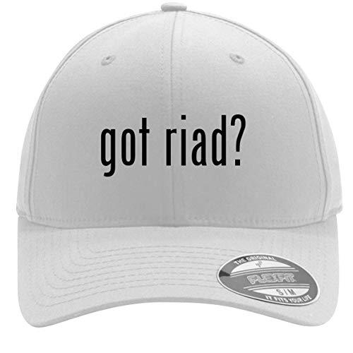 got Riad? - Adult Men's Flexfit Baseball Hat Cap, White, Large/X-Large (Best Riads In Morocco)