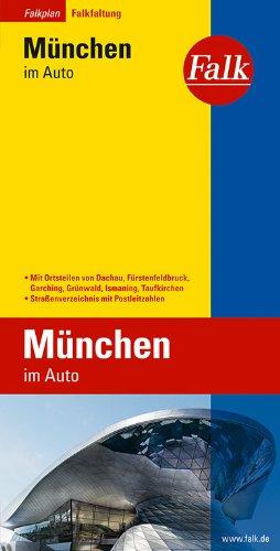 Falkplan Falk-Faltung München im Auto