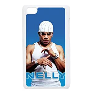 iPod Touch 4 Case White Nelly CHI Durable Back Cell Phone Case