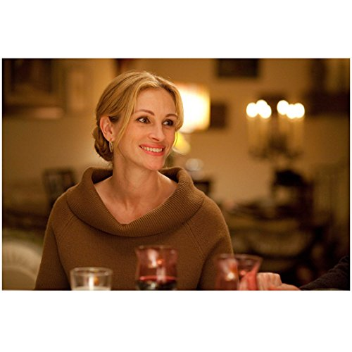 Eat Pray Love 8x10 Photo Julia Roberts in Brown Cowl Neck Sweater Beautiful Smile kn ()