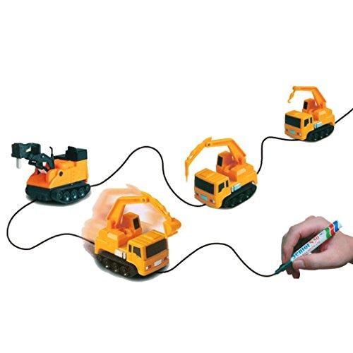 Leegor Follow Draw Lines Induction Car Electric Creative Truck Xmas Toys Birthday Present