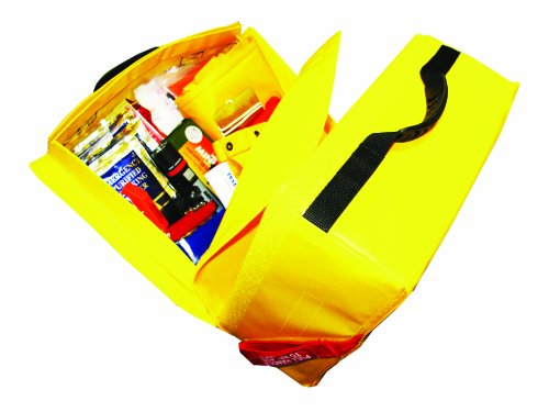 Revere 4-Person Aero Compact Liferaft with Canopy and Deluxe Kit