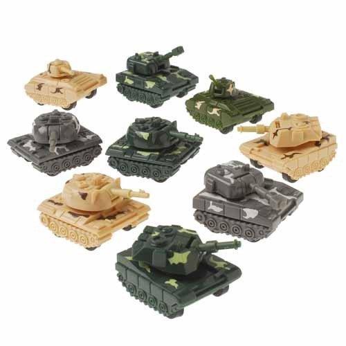 (Kid Fun Pull Back Tanks (1 Dozen) -)
