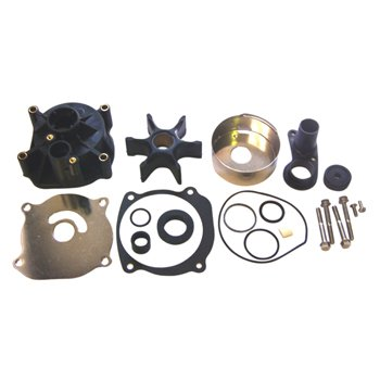 Water Pump Kit w/ Housing Johnson/Evinrude V4 V6 With Weep Hole in Pump Housing