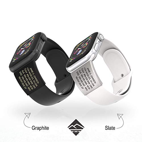 Elite Bracelet Watch - Road ID Official Tag for Apple Watch
