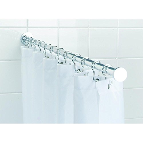 Croydex roydex AD117041YW 49-Inch Spigot Shower Rod Max w...