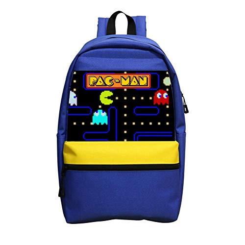 R-PAC Man Game Boys Girls School Bag Casual
