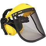 Oregon - Careta protectora con visor y auriculares
