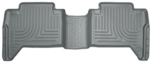 Husky Liners 2nd Seat Floor Liner Fits 16-17 Tacoma Double Cab Pickup