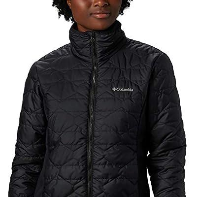 Columbia Women's Seneca Basin Hybrid Winter Jacket, Water repellent at Women's Clothing store