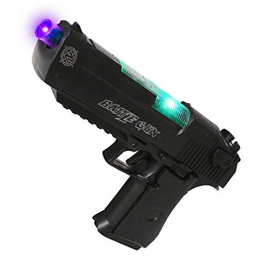 AKOi スーパーハンドガン 光線 音銃 おもちゃ サバイバルゲーム ボーイズギフト
