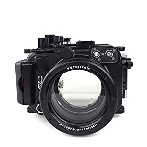 Sea frogs 40m 130ft Underwater Camera Housing Professional Diving Underwater Photography Photo Taking Waterproof Digital Camera PC Housing for Panasonnic GH5