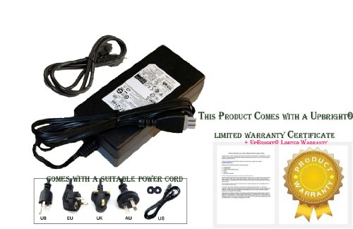 UpBright NEW AC/DC Adapter For HP Photosmart C4450 C4480 C4345 C4383 C4285 C4293 C4390 4200 C4472 C4473 C4550 C4283 C4188 C4183 C4180 C4155 C4150 7755 7760 7760V 7600 7620 7700 7760w C4380 C4210 2575 (In One 5610 All Printer)