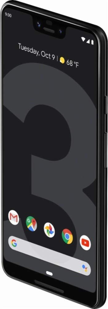 Google - Pixel 3 XL Factory Unlock (Verizon) (Black, 64GB) (Renewed) by Google (Image #2)