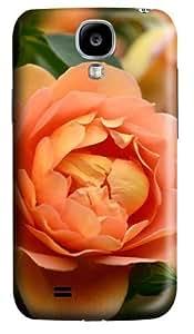 Peony Custom Samsung Galaxy I9500/Samsung Galaxy S4 Case Cover Polycarbonate 3D