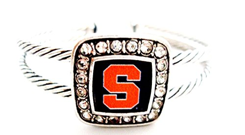 Accessory Accomplice Officially Licensed Syracuse University Cuff (Syracuse Orangemen Bracelets)