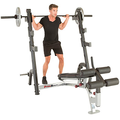 Fitness reality x class olympic weight bench barbell academy Academy weight bench
