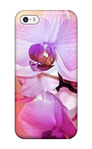 New WDsMVxN155NDSNJ Beautiful Orchid Flowers Tpu Cover Case For Iphone 5/5s