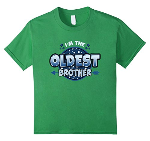 kids-im-the-oldest-brother-t-shirt-siblings-older-child-6-grass