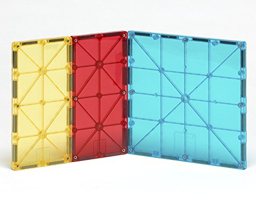 Magna Tiles 8Piece Rectangles Expansion Set - The Original, Award-Winning Magnetic Building Tiles - Creativity & Educational - Stem Approved
