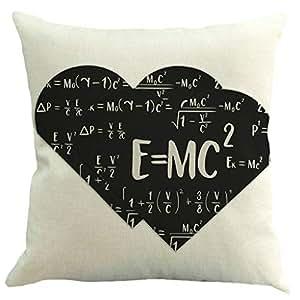 Muium 🔥🔥2019 Creativo Funda de Almohada de fórmula física ...