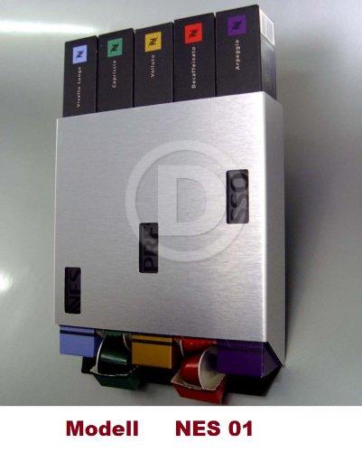 Soporte de pared modelo NES 01 para NESPRESSO Cápsula barras! Dispensador de cápsulas