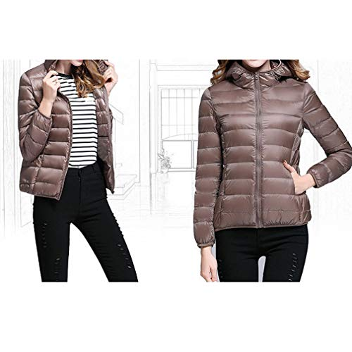 Abbronzatura Duck Donna Giacca Invernale Down Ultra Fangcheng Winter Hooded Jacket Light SwvF17q