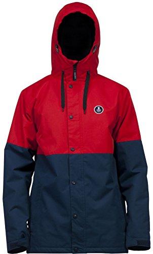 Ride Hawthorne Snowboard Jacket Red Rover Mens Sz XL