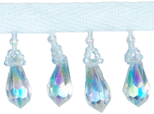 Expo SM3540CAB Diamond Cut Beaded Fringe Trim, 36-Inch Expo International Inc