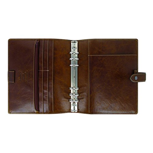 Filofax A5 Malden Organizer, Leather, Ochre, 8.25 x 5.75 (C025847-2019) by Filofax (Image #3)