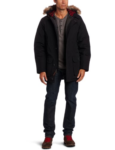 Woolrich Men's Arctic Parka, Black, Large (Arctic Parka Coat)