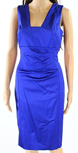 Lauren by Ralph Lauren Royal Womens Sheath Dress Blue 10 Ralph Lauren Wedding