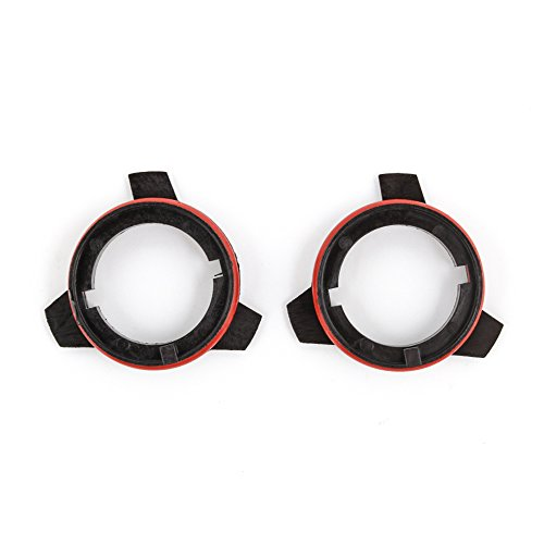 D2 D2R D2C D2S D4 D4R D4C D4S Series LED Headlight Bulb Holder Adapter Retainers For Kit Fits BMW 5 Series - PAIR