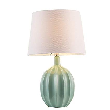 Lámparas de escritorio de cerámica, lámpara de mesa de la ...