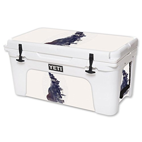 MightySkins Skin For YETI 65 qt Cooler - City Fox | Protective, Durable, and Unique Vinyl Decal wrap cover | Easy To Apply, Remove, and Change Styles | Made in the USA by MightySkins