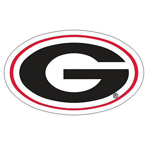 Craftique Georgia Bulldogs G Logo Car Decal-6in ()