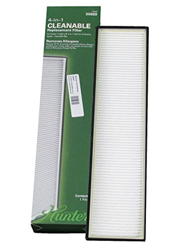 Hunter 4-in-1 Cleanable Replacement Filter 30889