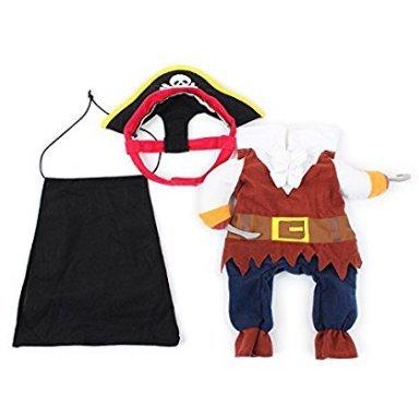 Sefon_Bwomen - Disfraz de Pirata caribeña para Perros, Gatos ...