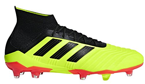 Predator Red Solar Yellow Black Soccer Ground Men's adidas 18 Solar Firm Cleat 1 dR7zq8