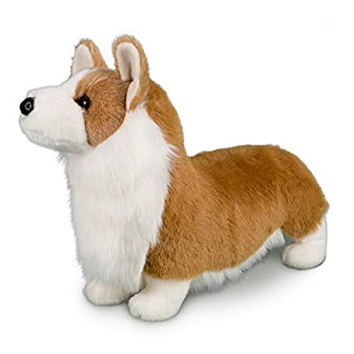 Douglas Chadwick Corgi Plush Stuffed Animal: Toys & Games