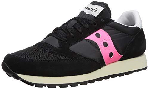 Saucony Originals Men's Jazz Original Sneaker Black/Pink 9.5 M US