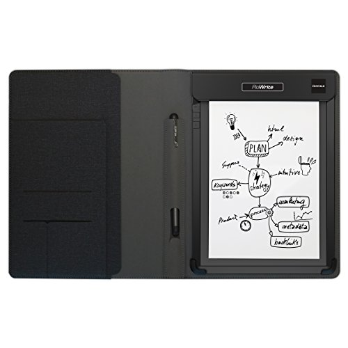 Royole RoWrite Smart Writing Digital Pad for Business, Academic and Art, with Folio, Pen, 2 A5 Notepads