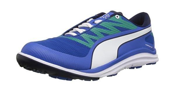 PUMA Men's Biodrive Golf Shoe, Strong BluePeacoat