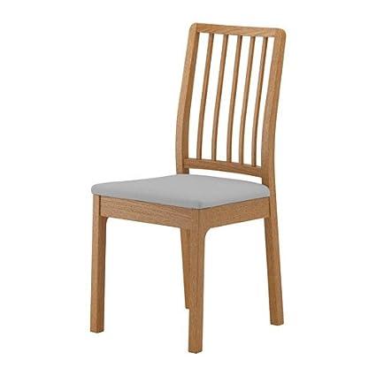 Unbekannt IKEA ekedalen - Silla de Roble; Funda orrsta Gris ...
